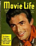 Gregory Peck on the cover of Movie Life (United States) - January 1946