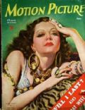 Sylvia Sidney on the cover of Motion Picture (United States) - June 1934