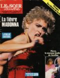 Madonna on the cover of Le Soir Illustre (France) - September 1987