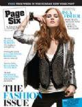 Page Six Magazine [United States] (15 February 2009)