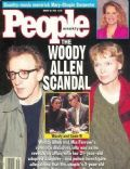 Mia Farrow on the cover of People (United States) - August 1992