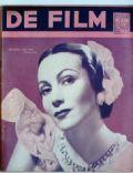 De Film (Belgian Magazine) Magazine [Belgium] (17 July 1938)