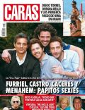 Joaquín Furriel, Luciano Cáceres, Luciano Castro on the cover of Caras (Argentina) - May 2014