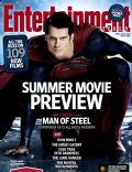 Henry Cavill on the cover of Entertainment Weekly (United States) - April 2013