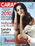 Penélope Cruz on the cover of Caras (Puerto Rico) - January 2010