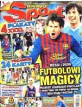 David Silva, Lionel Messi on the cover of Bravo Sport (Poland) - January 2012