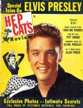 Elvis Presley on the cover of Hep Cats (United States) - February 1957