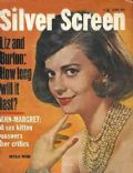 Natalie Wood on the cover of Silver Screen (United States) - June 1963