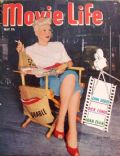 Betty Grable on the cover of Movie Life (United States) - May 1950