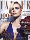 Charlize Theron on the cover of Tatler (Russia) - April 2012