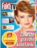Daria Widawska on the cover of Fakt TV (Poland) - August 2013