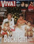 David Beckham, Victoria Beckham on the cover of Viva (Poland) - June 1999