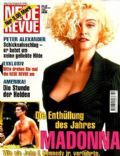 Madonna on the cover of Neue Revue (Germany) - October 2001