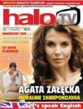 Agata Zalecka on the cover of Halo TV (United Kingdom) - September 2011