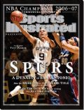 Tony Parker on the cover of Sports Illustrated (United States) - June 2007
