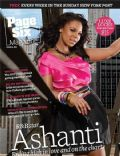 Ashanti on the cover of Page Six (United States) - August 2008