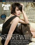 Rumer Willis on the cover of Page Six (United States) - August 2008