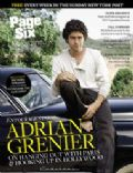 Adrian Grenier on the cover of Page Six (United States) - August 2008