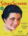 Kay Francis on the cover of Silver Screen (United States) - March 1931