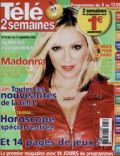 Madonna on the cover of Tele 2 Semaines (France) - September 2004