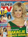 Agnieszka Popielewicz on the cover of Super TV (Poland) - July 2010