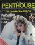 Madonna on the cover of Penthouse (United Kingdom) - October 1985