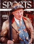 Ernest Burton (American football) on the cover of Sports Illustrated (United States) - November 1955