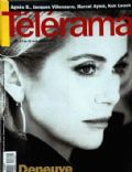 Catherine Deneuve on the cover of Telerama (France) - August 1996