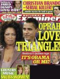 Barack Obama, Faith Hill, Oprah Winfrey, Oprah Winfrey and Stedman Graham, Stedman Graham on the cover of National Examiner (United States) - February 2008