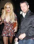 Lindsay Lohan and Gerard Butler