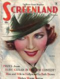 Ruby Keeler on the cover of Screenland (United States) - February 1935