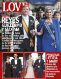 Felipe de Borbón, Kronprins Frederik, Kronprinsesse Mary, Prince Willem-Alexander, Princesa Letizia de Asturias, Princess Máxima of the Netherlands on the cover of Love (Spain) - May 2013