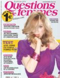 Madonna on the cover of Questions De Femmes (France) - August 2013