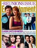 Debra Messing on the cover of Entertainment Weekly (United States) - October 2010
