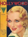 Carole Lombard on the cover of Hollywood (United States) - December 1933