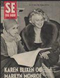 Se Og Hoer Magazine [Denmark] (13 February 1959)