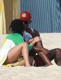 Usain Bolt and Kasi Bennett