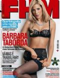 Barbara Taborda on the cover of Fhm (Portugal) - February 2009