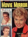 Doris Day on the cover of Movie Mirror (United States) - February 1957