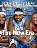 LeBron James on the cover of Sports Illustrated (United States) - October 2006