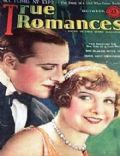 Edna Murphy, Gaston Glass on the cover of True Romances (United States) - October 1926