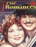 John Gilbert, Renée Adorée, Renee Adoree and John Gilbert on the cover of True Romances (United States) - July 1928