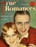 James Hall, Ruth Taylor on the cover of True Romances (United States) - December 1928