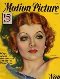 Myrna Loy on the cover of Motion Picture (United States) - May 1932