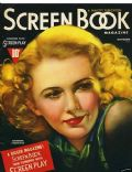 Barbara Stanwyck on the cover of Screen Book (United States) - October 1937