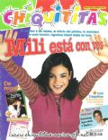 Agustina Cherri on the cover of Chiquititas (Argentina) - August 2001