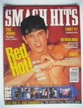 Mark Wahlberg on the cover of Smash Hits (United Kingdom) - November 1992