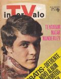 Wanderley Cardoso on the cover of Intervalo (Brazil) - December 1967