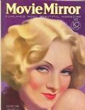 Marlene Dietrich on the cover of Movie Mirror (United States) - May 1932