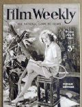 Miriam Hopkins on the cover of Film Weekly (United Kingdom) - July 1932